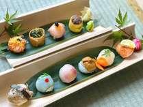 【花:手毬寿司】島根の旬の地魚鮮魚を使った手毬寿司10貫!かわいい見た目がインスタやSNS映えにも♪