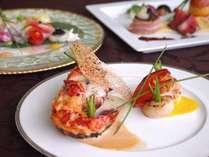 松阪牛肉ステーキ、オマール海老のローストなど豪華素材にライトアップ新バージョンを添えて~禁煙