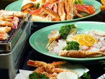 カニフル・プチ蟹プランでは色んなカニ料理がいただけます♪
