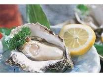 【夏のおすすめ♪】天然岩牡蠣&海鮮炭火焼プラン【夏季限定】