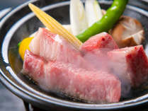 陶板焼きで食べるおおいた和牛をご堪能下さい