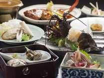 濤亭の王道!スタンダードお食事には、伊勢海老がお一人様に一匹つきます。