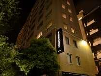 【ホテル外観】 夜