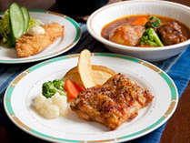 *【夕食全体例/基本膳(冬)】丹精込めて1品1品仕上げる、信州ならではのお食事です。