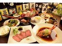 【星-sei-】アルハンブラ特別プラン  金目鯛煮付け+お刺身舟盛+ローストビーフ  GW 三連休