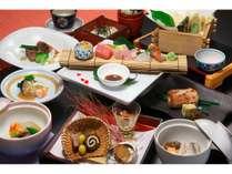板前が腕を振るう本格日本料理