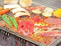 近江牛でBBQ♪自家製野菜もたっぷりです!飲んで食べてみんなでワイワイ楽しくヽ(≧▽≦)ノ