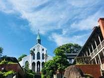 世界遺産に登録された大浦天主堂。献堂後歩んだ歴史を体感してみてください。