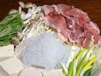 *[夕食一例]鍋の具材