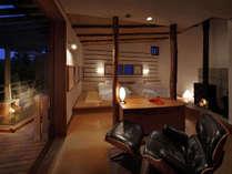 特別室で過ごす贅沢なひと時 《薪ストーブと源泉かけ流し檜露天付き》 離れおとぎの里「さとのま」