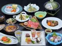 清風苑イチオシ!!板長渾身の「信州の味覚満喫♪会席料理」イメージ画像
