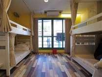二段ベッドのお部屋。
