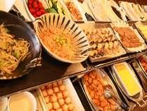 朝食バイキングイメージ。新型コロナウィルス感染拡大防止に配慮した提供に努めます。