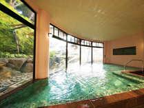 【大浴場】のんびりとお湯に浸かり日頃の疲れを癒してください♪