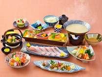料理長特製の豆乳塩麹鍋会席