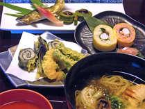 珍しいお料理コースをお手軽に♪自慢の≪素麺会席≫