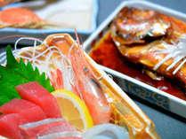【グレードUP会席】名物・金目鯛の煮付け会席+カニ料理!駿河湾を望む天然温泉/2食付【直前予約】