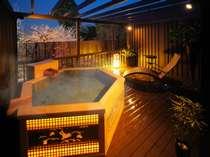 貸切展望露天風呂 月籠り(冬季間休み) outdoor heavenly bath