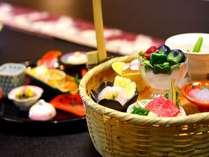 旬の籠盛り sesonal yamagata food