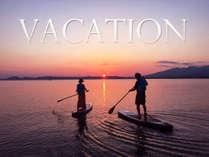■自然美あふれる猪苗代湖■目の前で多彩なアクティビティを満喫し、自然と触れ合う最高の休日をどうぞ。