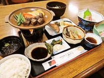 *【ご夕食一例】季節の「能登の里山里海」の食材を使った和定食です