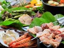 【グランピング】×【一碧湖】≪2食付≫グランピング客室登場♪夕食は自然の中でグリル料理を楽しむ♪
