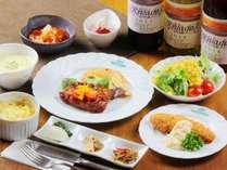 ☆ボリューム満点の夕食