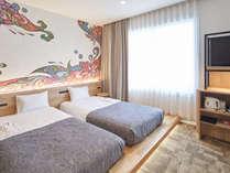 ◆28.7平米のプレジャールーム、ベッドも小上がりの設えの為、ご家族での添い寝にも便利