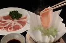■夕食一例■豚しゃぶ