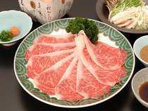 ■夕食一例■牛しゃぶ