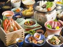 鷺乃湯の冬のおもてなし【四大味覚膳】