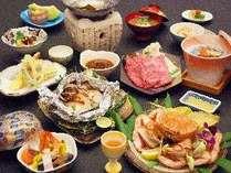 ■夕食一例■秋の味覚会席
