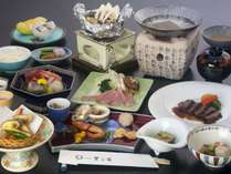 【秋の味覚膳~雅~】信州牛&松茸&金目鯛饗宴プラン