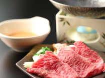 ■夕食一例■信州牛
