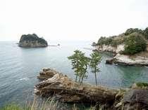 お部屋からは駿河湾と三四郎島を一望する事ができます
