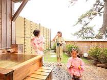 海一望の庭園・露天風呂付き客室