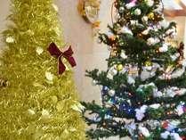 大きなクリスマスツリーも飾ってあるよ♪ロビーにて