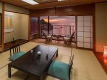 夕陽やトンボロ現象を客室から眺められる