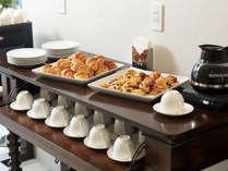 ビーチフロントタワーミハマの無料の軽朝食サービス♪