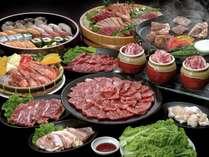 【プレミアムバイキング】熊野牛一頭買いと豪華食材 ※イメージ画像