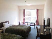 4名定員のお部屋を1~3名様でご利用いただきます。広くて快適とお褒めいただくことの多いお部屋です。