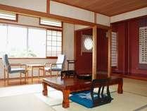 山寺妙義山の見える部屋