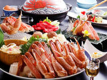 城崎の冬の味覚「カニすき鍋」!カニの旨みがぎゅーっと詰まった締めの雑炊も絶品です♪