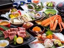 new≪選べて嬉しい★緑風会席≫但馬牛orアワビ焼(料理一例)