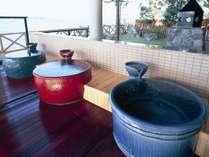 15:瓶風呂◆【夢湯パーク】瓶風呂を独り占めはいかがでしょうか。