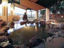 18:岩風呂【◆【夢湯パーク】天然の岩ならではの力強い温もりが肌に伝わります