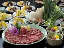 ★宇佐市特産味一ねぎ使用★味一ねぎしゃぶプラン 牛しゃぶコース 【1泊2食付】
