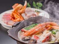 ■□冬の鍋物プラン 冬の彩り鍋□■(写真は2名様盛りです)