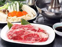 【夕食グレードUP】<1泊夕食付>選べる信州牛♪しゃぶしゃぶorすき焼きプラン