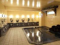 *風化鉱物トゴール・ウォームタイトを使用した人工温泉「トゴールの湯」で冷えた体をほっこり♪
